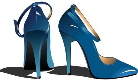 Woman shoes vectors