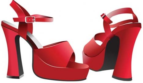 Woman shoes design