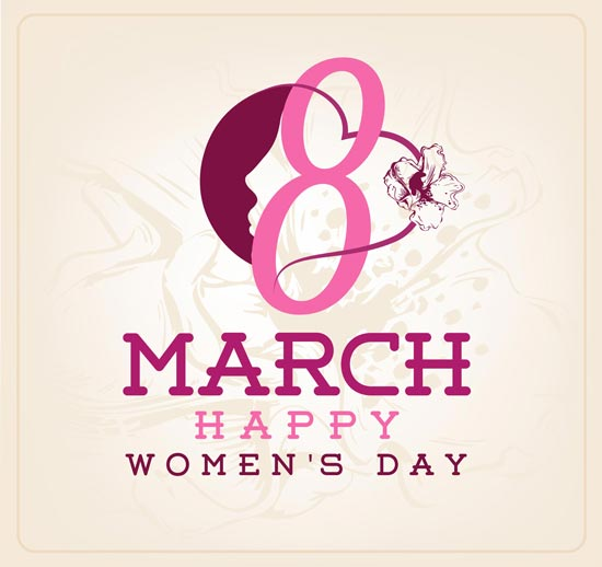 Womens day greeting card for 8 march m4hsunfo