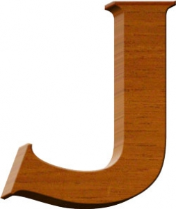 Wooden letters numbers and symbols