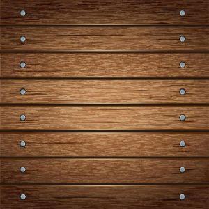 Wooden list board vector eps