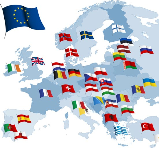 World and european vector maps gumiabroncs Images