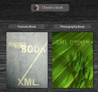Xml flip book flash script
