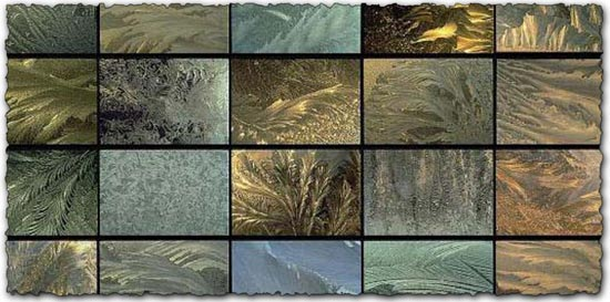 Frost textures collection