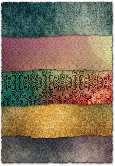 Vintage inspired textures