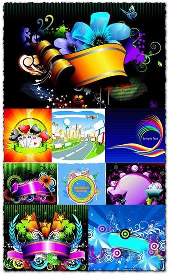Colorful vectors design