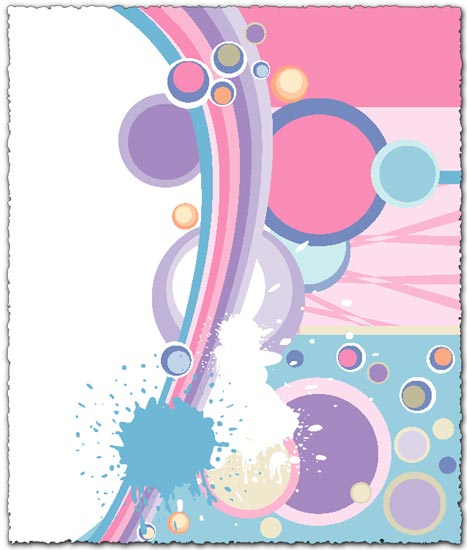 Splatter abstract vector eps