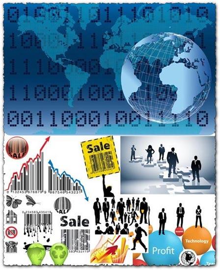 Business people vectors