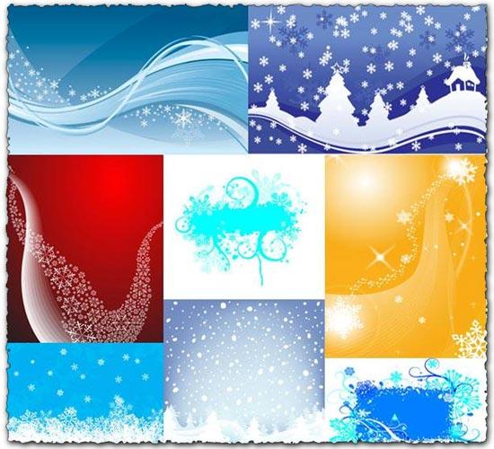 Christmas background vectors