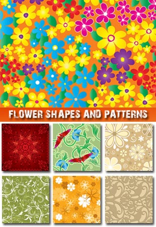 Flower shapes and patterns