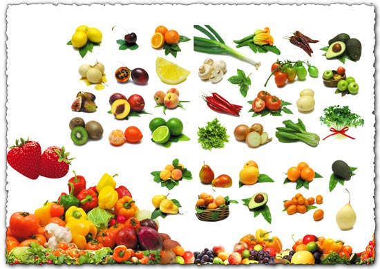 fruit-and-vegetables-psd