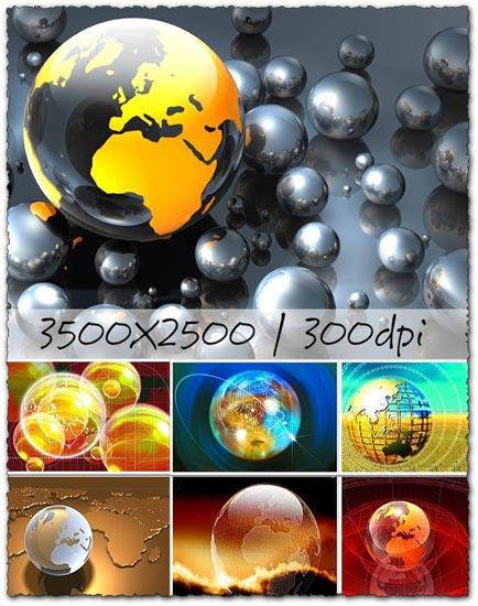 Background globes design images