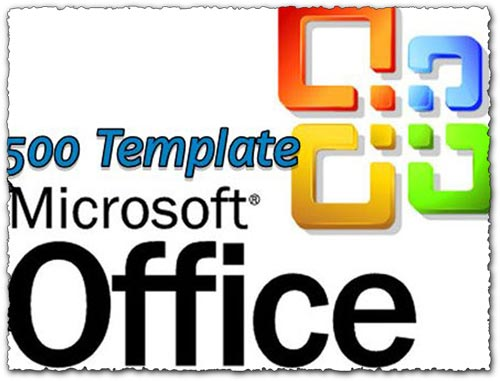 500 Office Templates For Word, Excel and Power Point