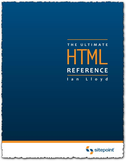 Html reference pdf ebook