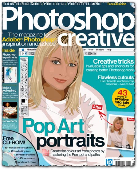 Photoshop creative magazine no 12