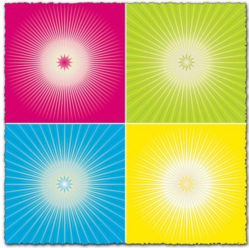 Sun light effect vector eps