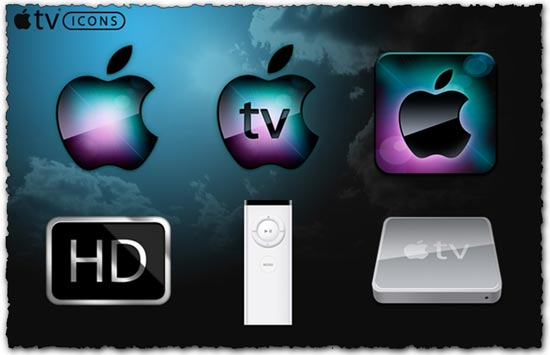 Apple TV png icons