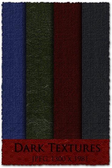 Dark fabric textures templates