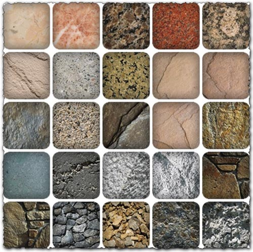 Stone textures collection images