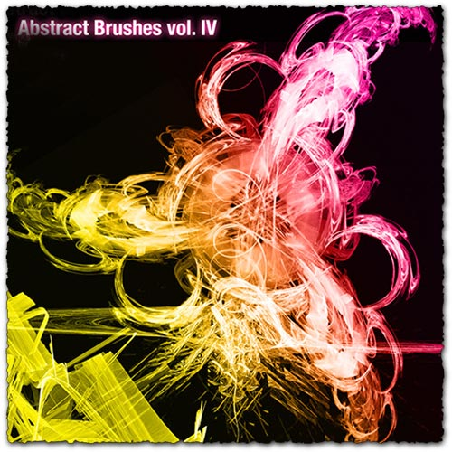 Abstract photoshop brush pack