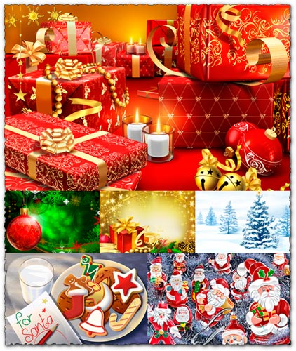 Christmas Backgrounds Image Database