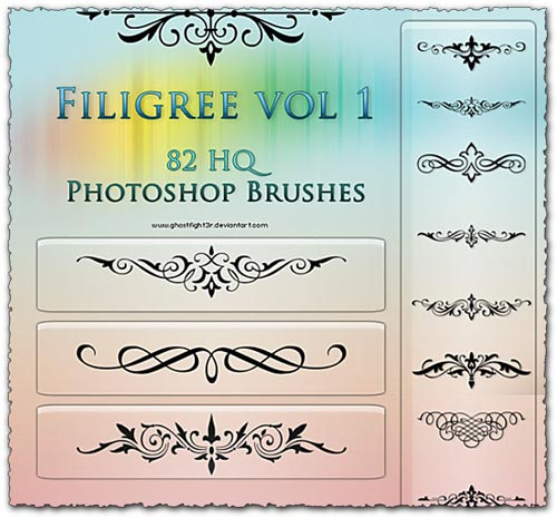 82 Photoshop tribal tattoo brushes