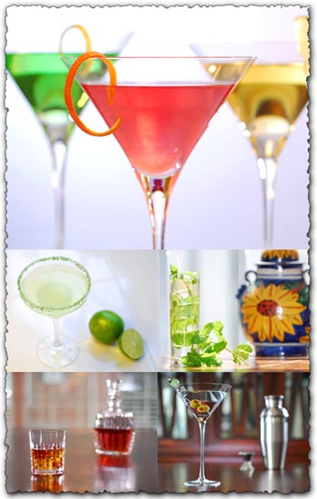 Cocktail templates collection images