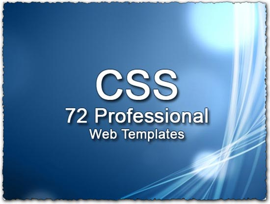 CSS Web Templates - Professional website templates