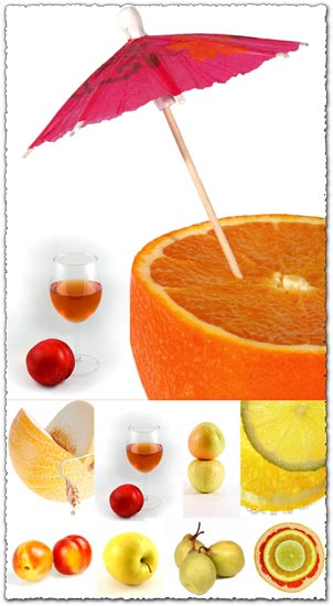 Fruit background images collection