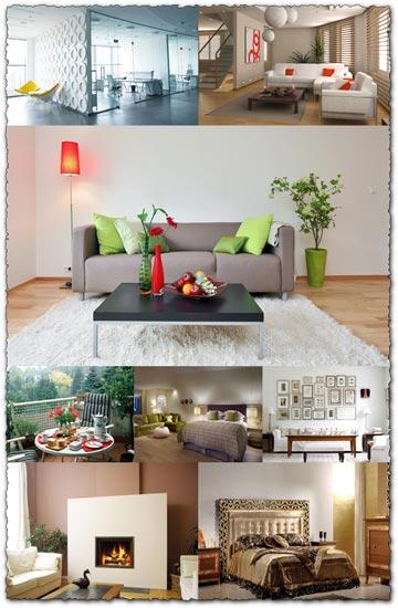 24 interior design wallpapers