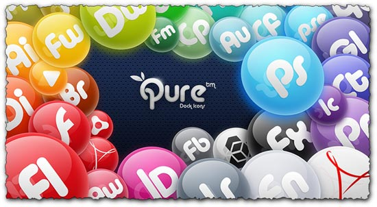 Icons for Adobe Creative Suite