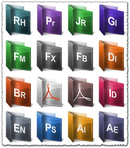 Adobe folder collection set