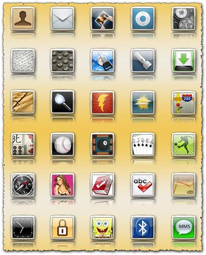 Iphone iElegance Icons