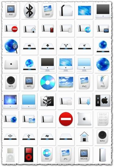 60 Apple icons design