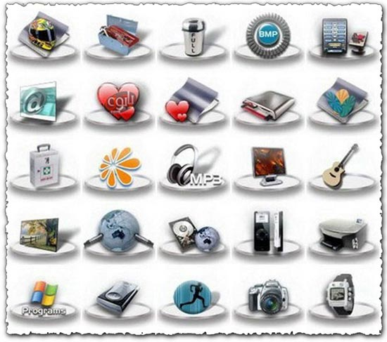 70 Png multimedia gadget icons