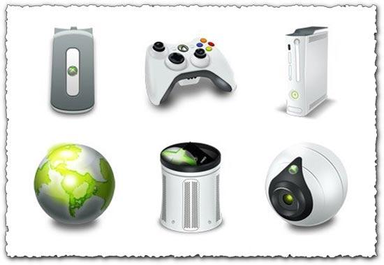 Xbox 360 Icons Set