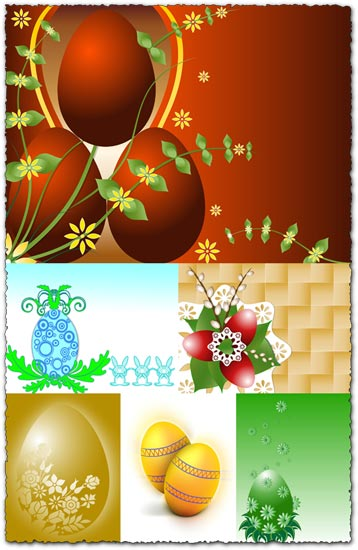Easter eggs background images