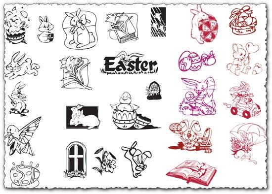 Easter clip arts