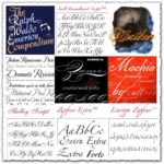Typadelic elegant wedding fonts