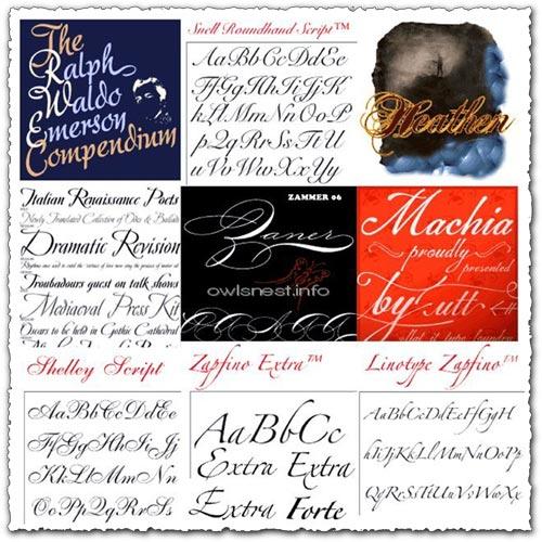 Typadelic elegant wedding fonts