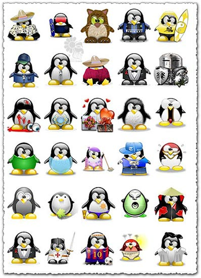 945 penguin avatars