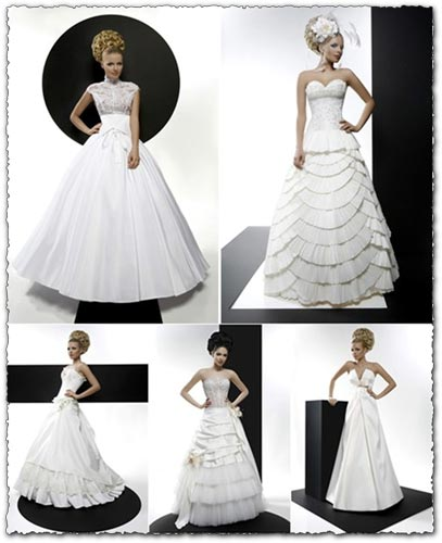 Photoshop wedding dresses templates