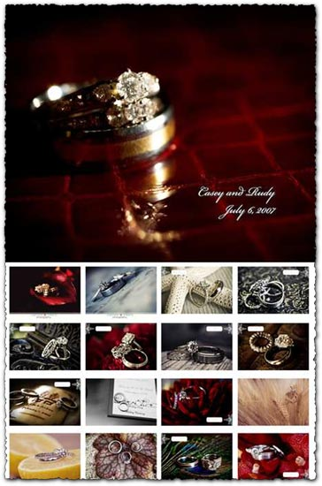 108 wedding ring templates