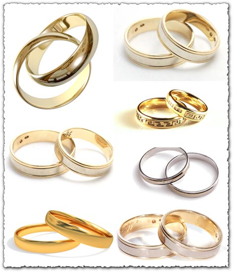 8 jpg 3143 2079 300dpi 192 Mb Wedding rings template models