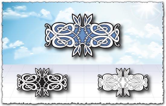 Arabic ornament vectors