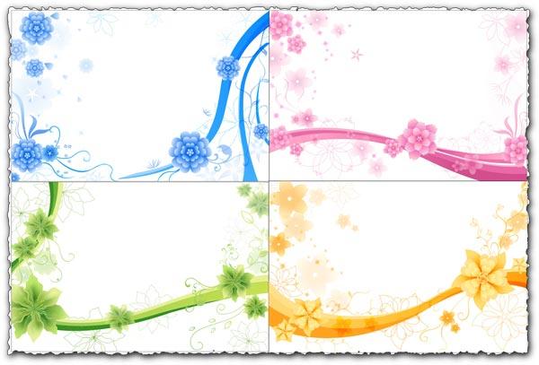 Asadal flower greetings design