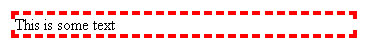 CSS BORDER Syntax