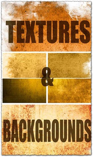Fine grunge textures and backgrounds