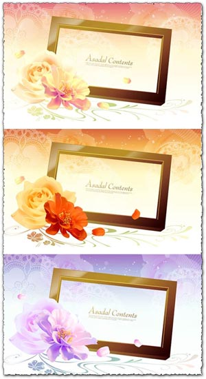Flower frames asadal design