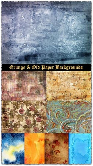 Grunge and old paper backgrounds